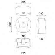 Tork jemný 3-vrstvý toaletní papír konvenční role, bal./60ks (T4)