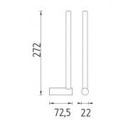 Gastronádoba plná GN 2/3 nerezová, Provedení 354 x 325 x 200 mm