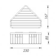 Fén Valera Premium 1200 Compact, bílý - 533.04/036