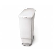 Plastový odpadkový koš ECOTOP II, zelený