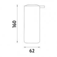 Lanová zábrana s informační tabulí BP230Bss