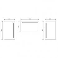 Univerzální rautové spony pro desky s tloušťkou 3,2 - 6,5 cm, 25ks