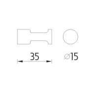 Zábranový stojan s natahovací páskou 2,1 m - šedá, bez podstavce