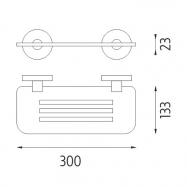 Stolní popisovací tabule Securit s dřevěným stojánkem a 1 popisovačem PIG