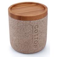 Rychlovarná sada Slim, černo-hnědé bukové dřevo: podnos + konvice + šálky