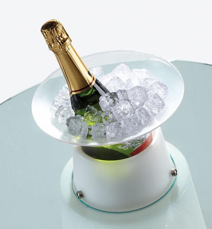 Nádoba na led pro chlazení šampaňského